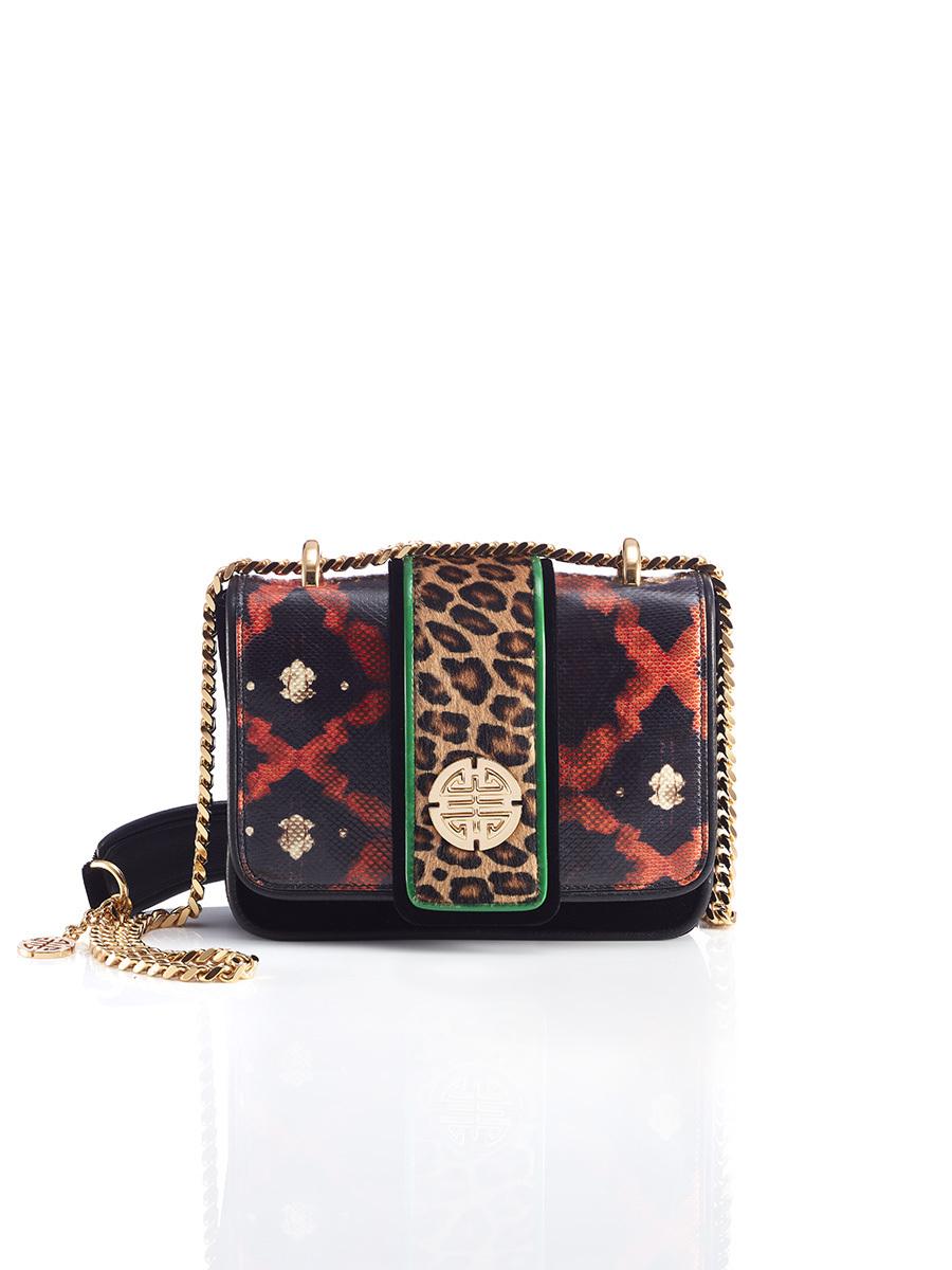 Multipanel Shou Shoulder Bag