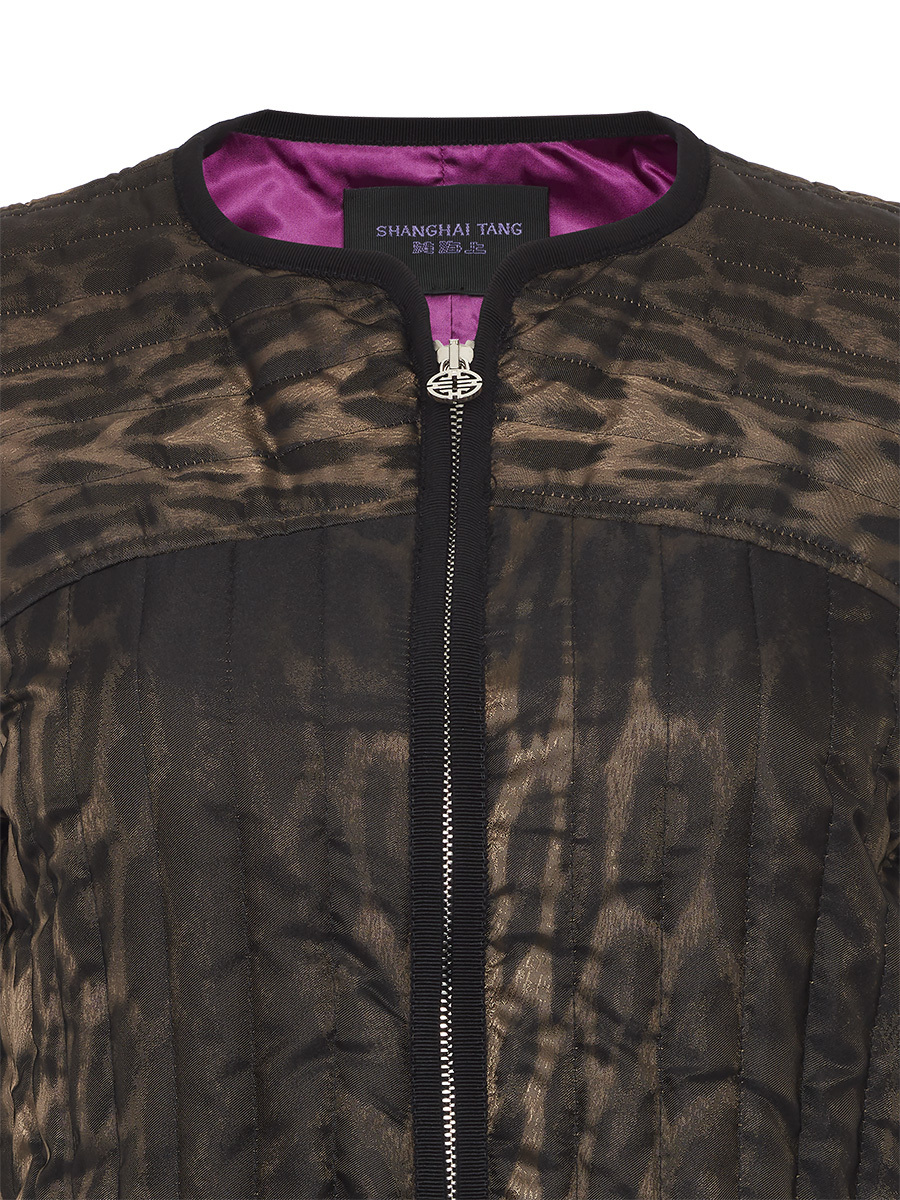 Quilted Short Blouson