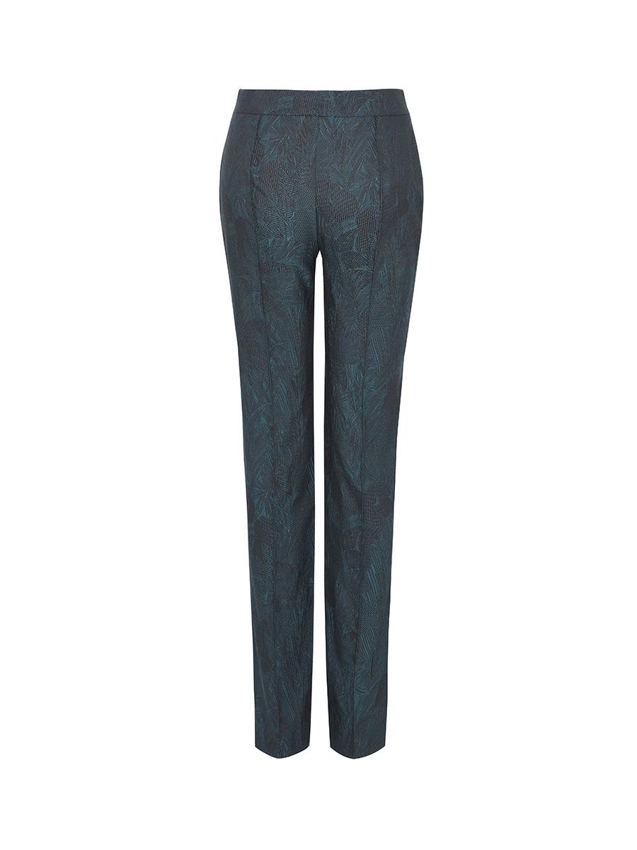Skinny Pants With Picoting
