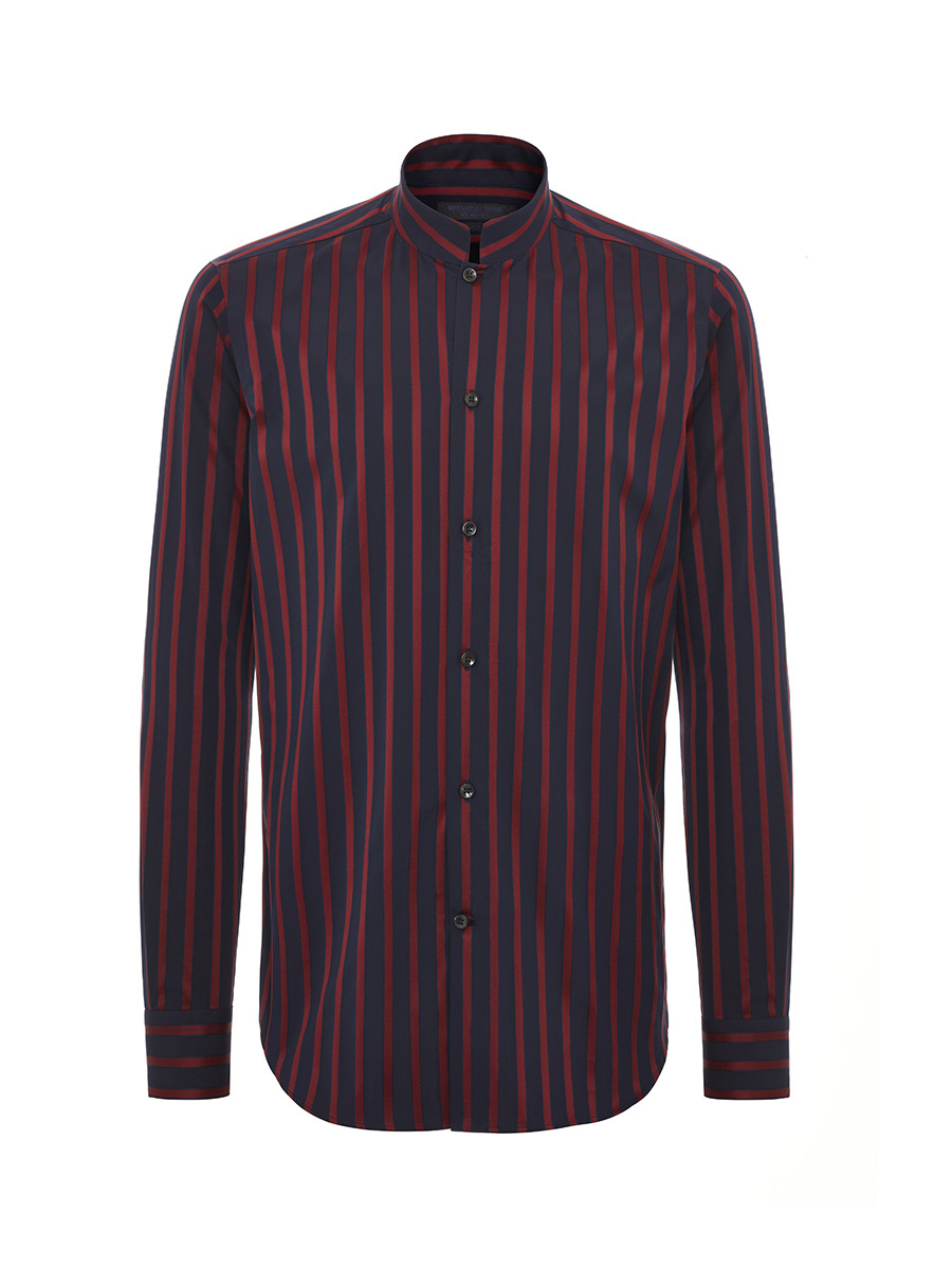 Satin Stripes Cotton Shirt