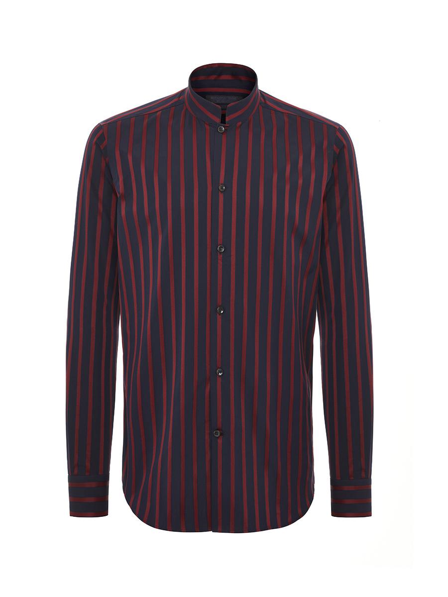 Satin Stripes Cotton Shirt