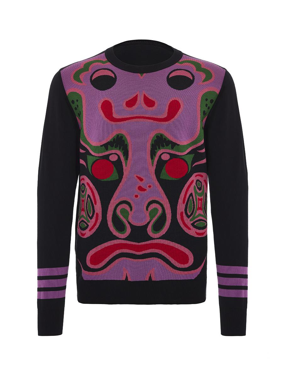 Chinese Mask Sweater