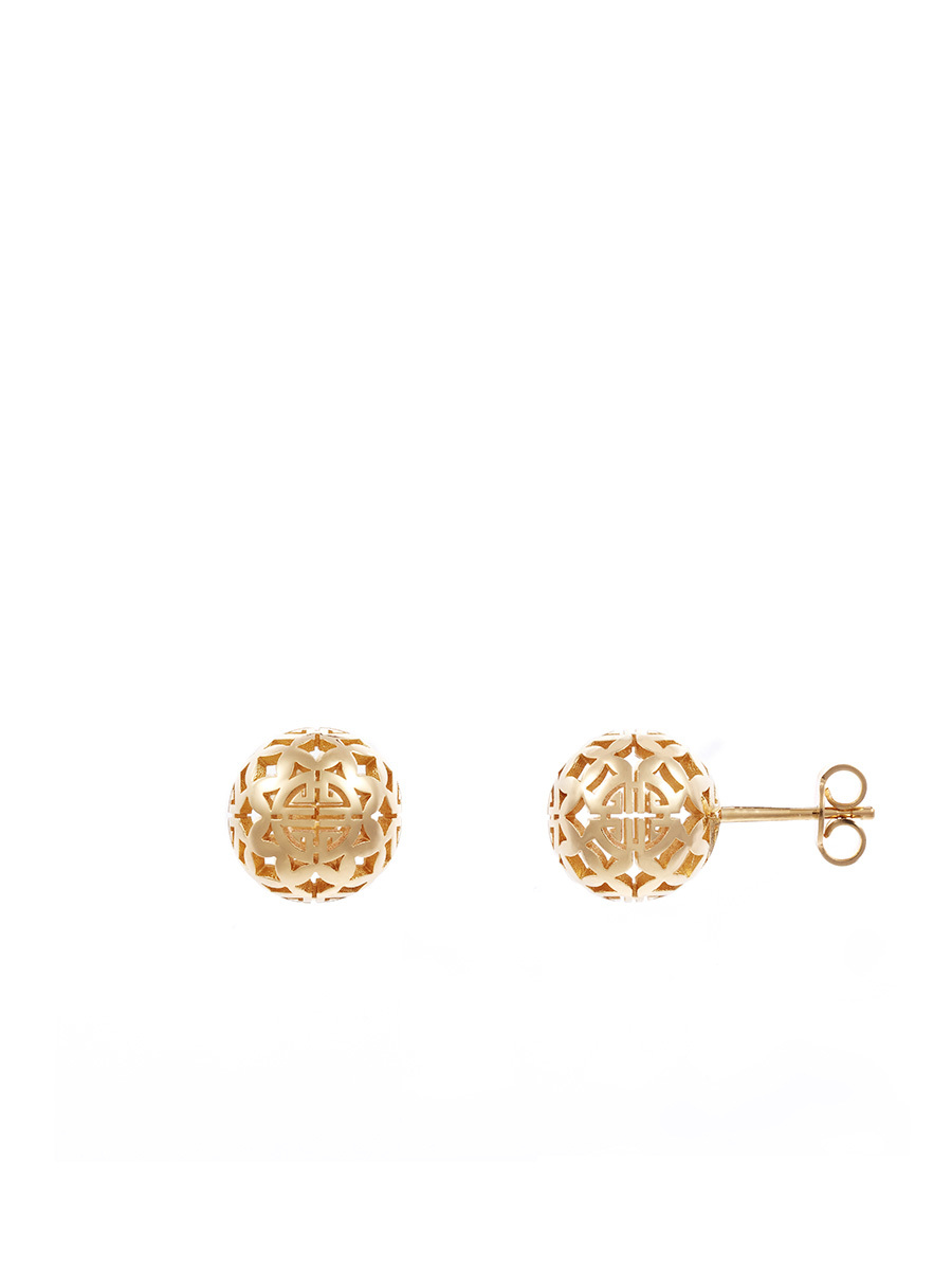 Shou Sphere Stud Earrings