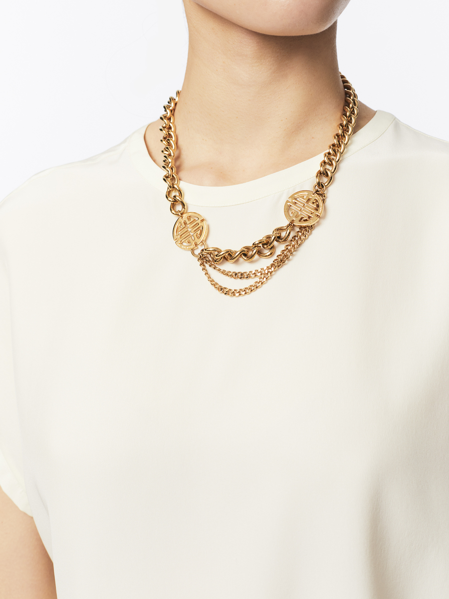 Shou Heavy Chain Necklace