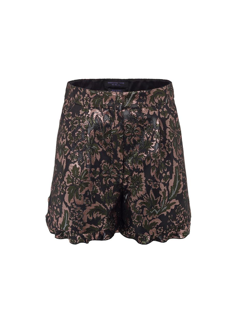 Lurex Jacquard Shorts