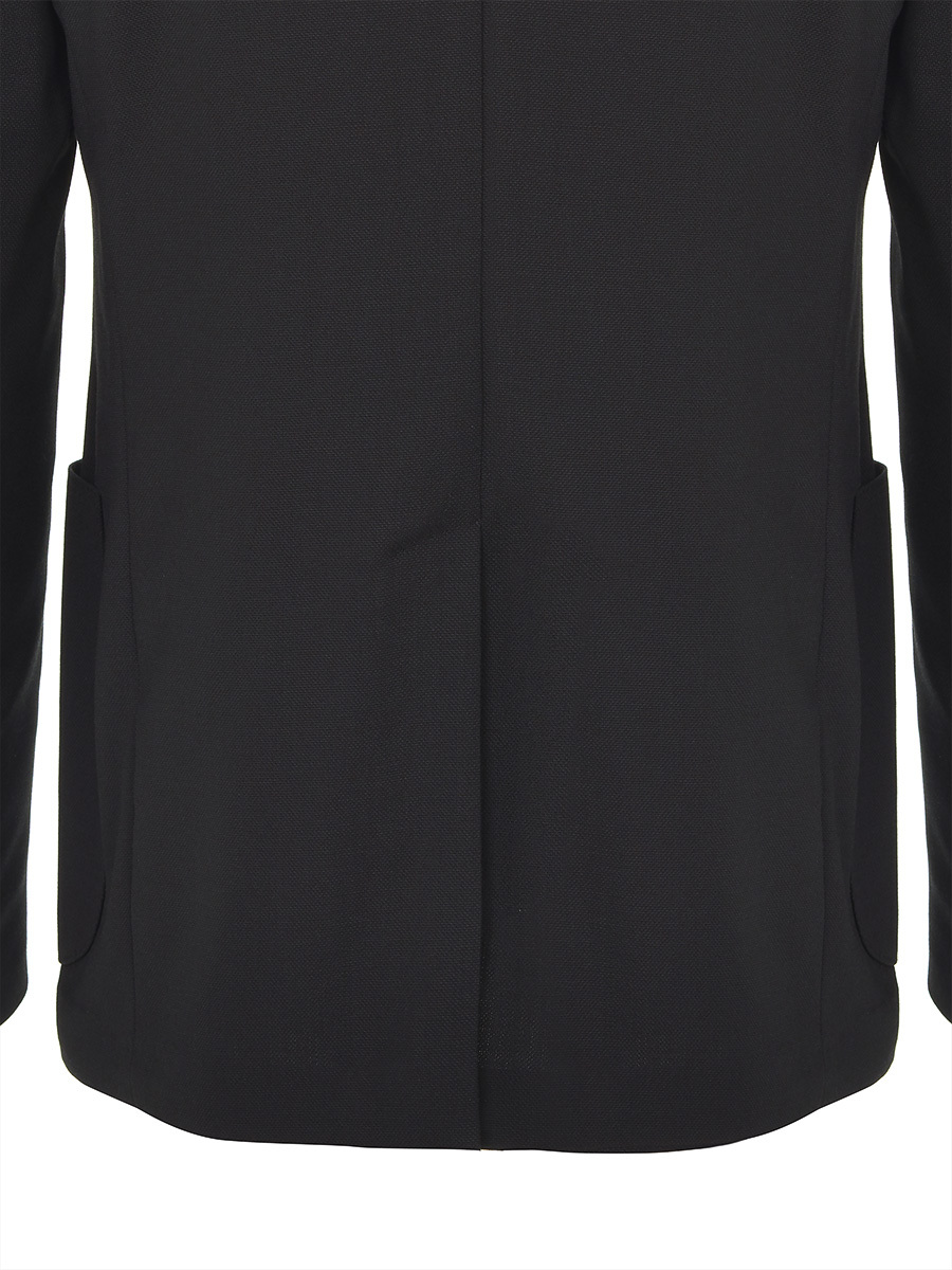 5 Button Mandarin Collar Blazer