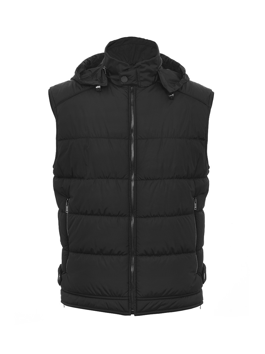 Sleeveless Quilted Jacket