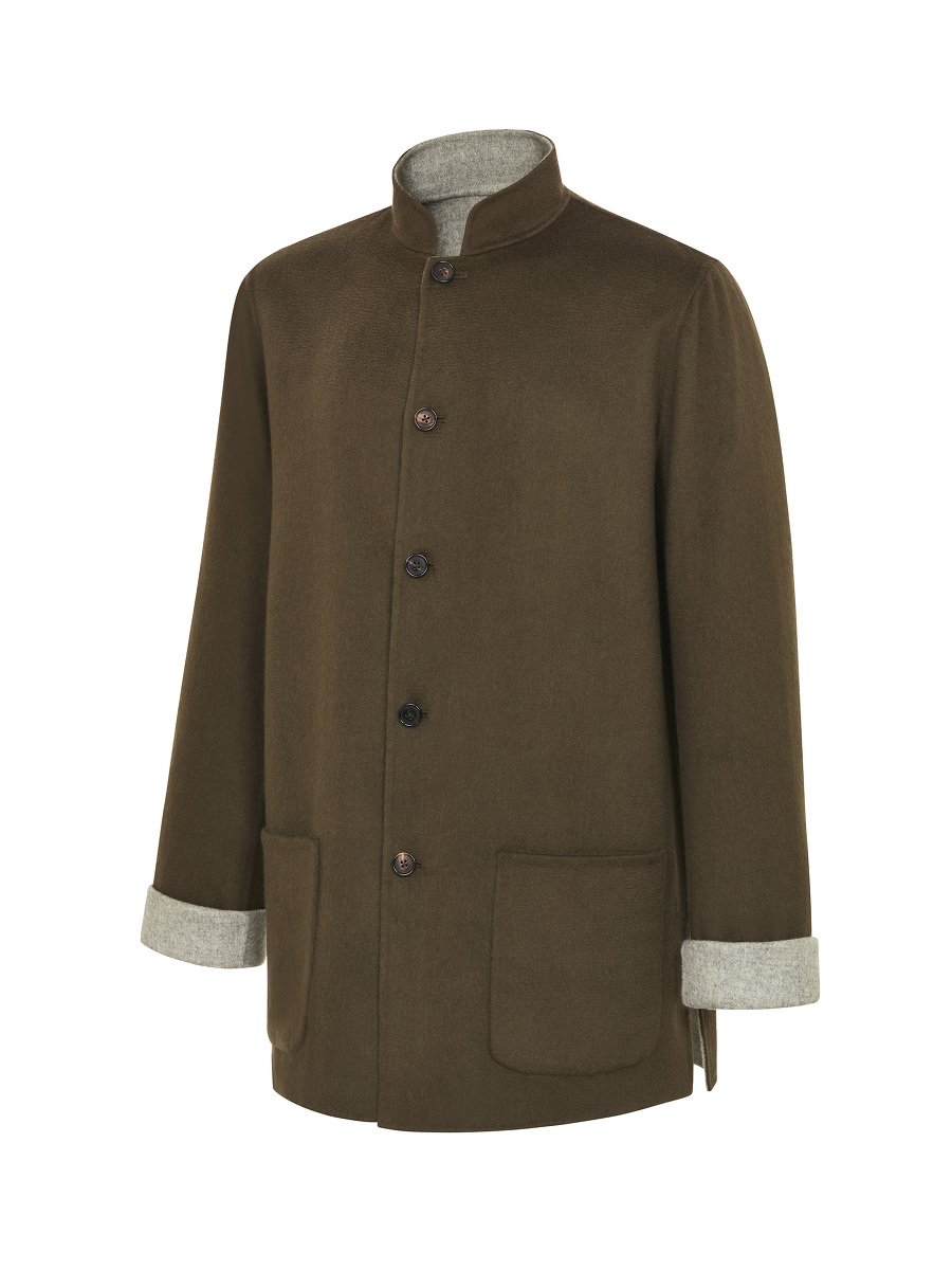 Reversible Double Wool Tang Jacket