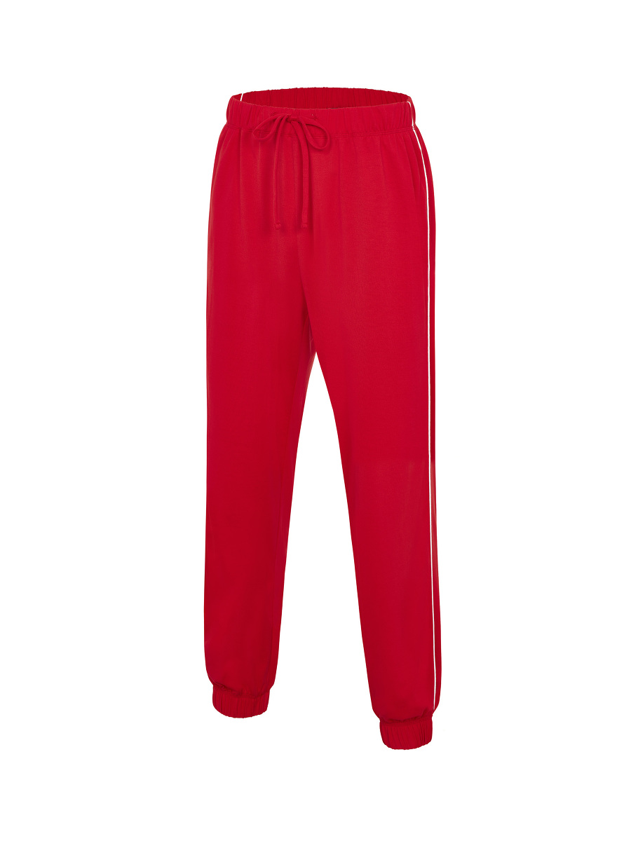 Cotton Jersey Pyjama Lounge Set with Pouch