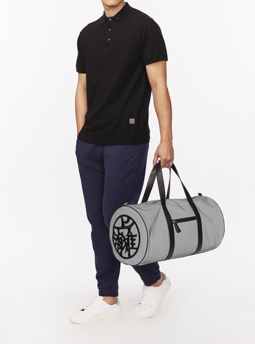 Contrast Trim Knit Polo Shirt