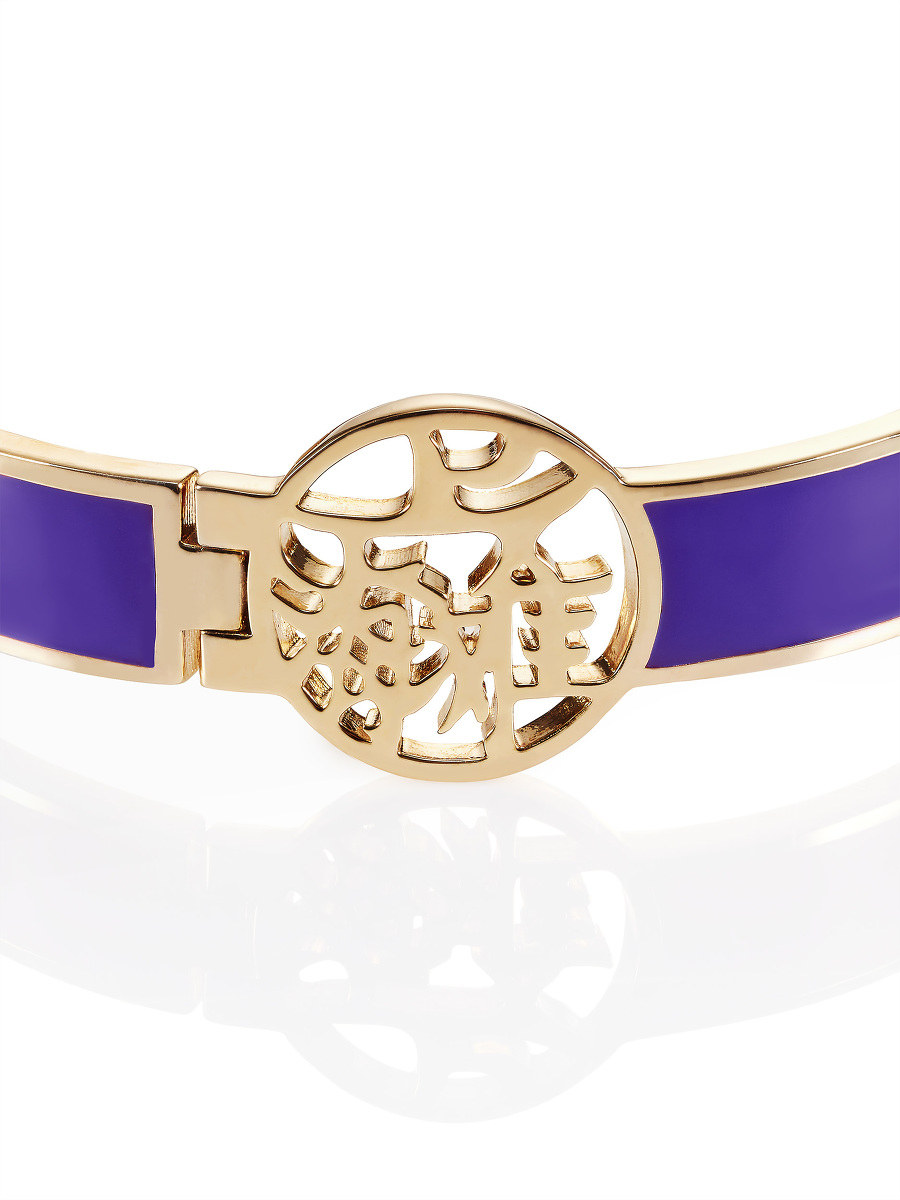 SHT Motif Enamel Bangle