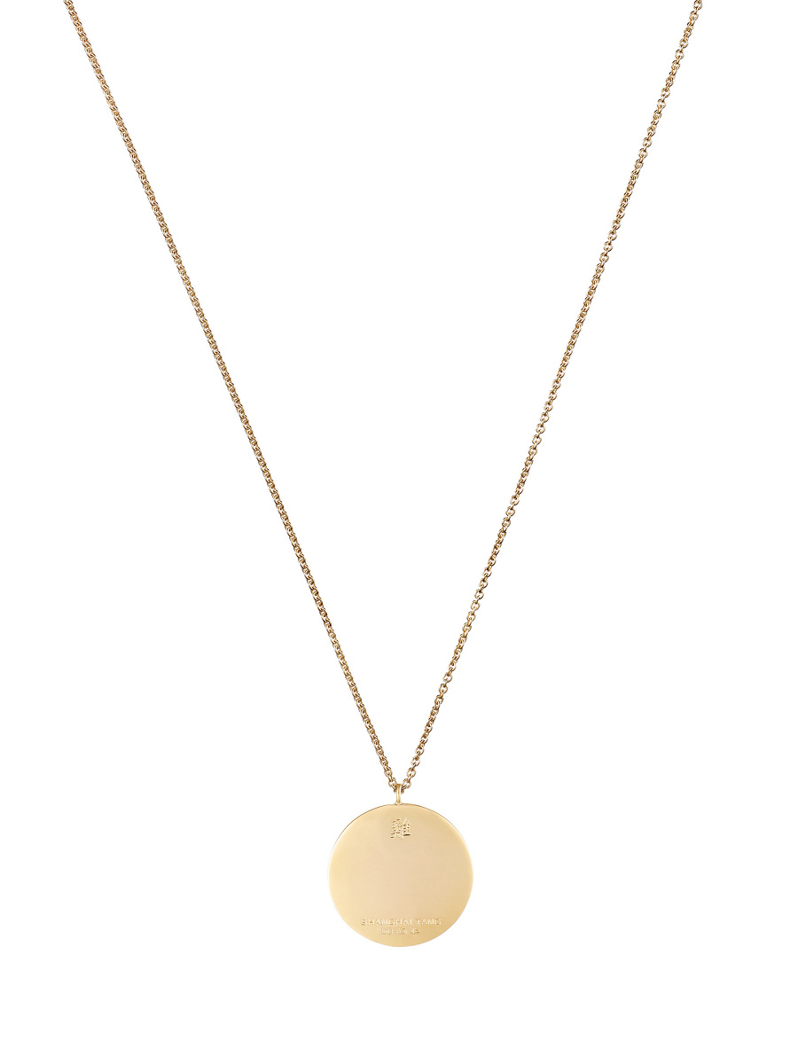 Zodiac Enamel Pendant Necklace – Rooster