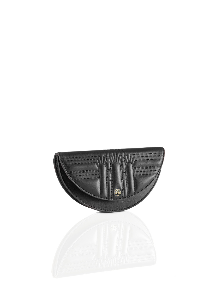 Half Moon Leather Pochette