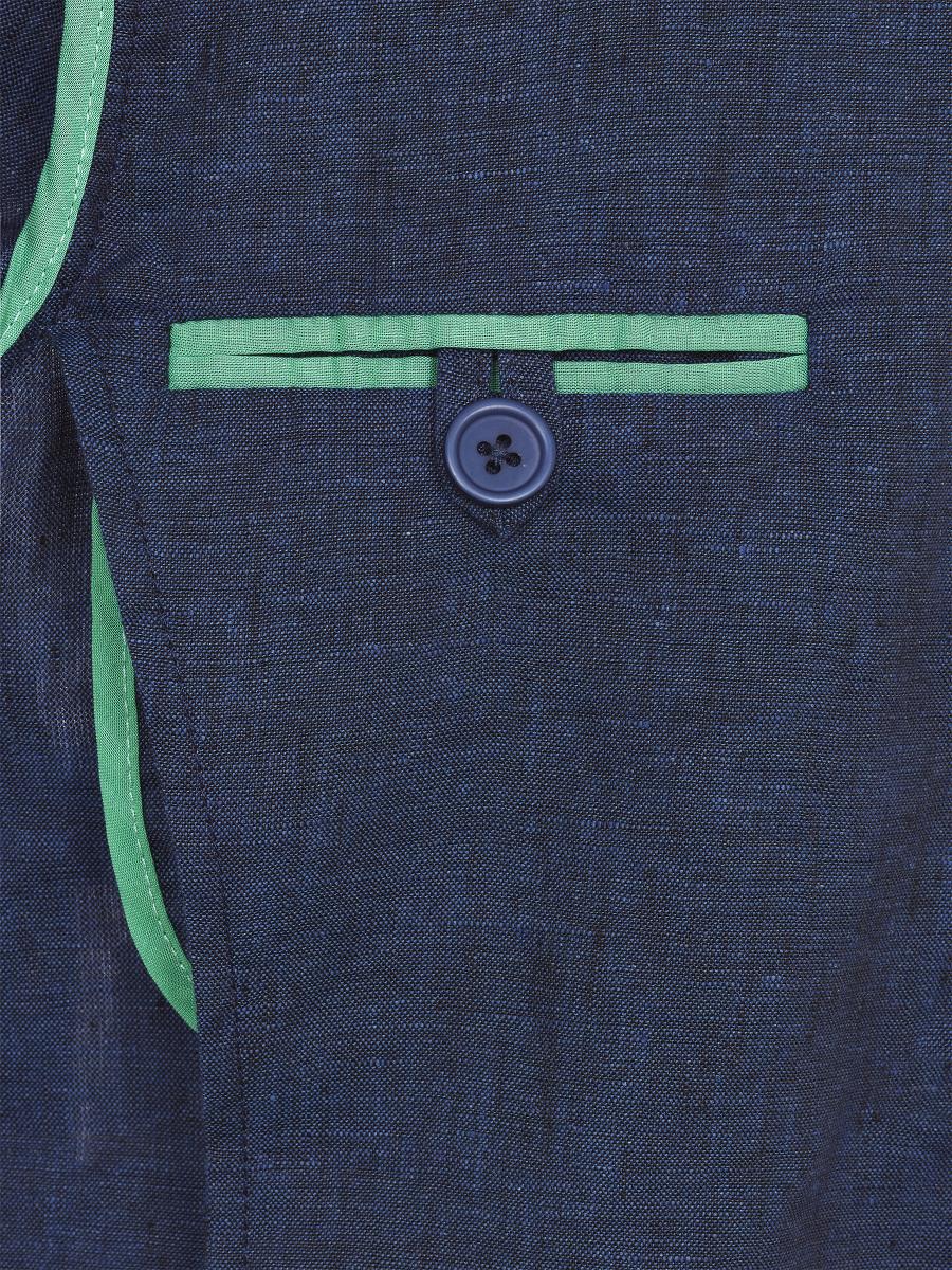 Bomber Collar Kids Linen Jacket