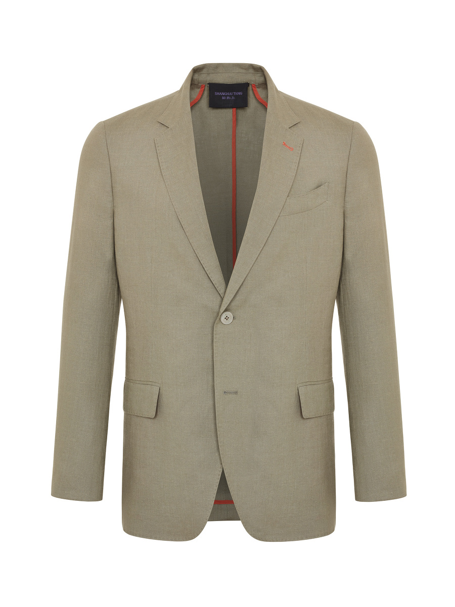 2-button Linen Jacket