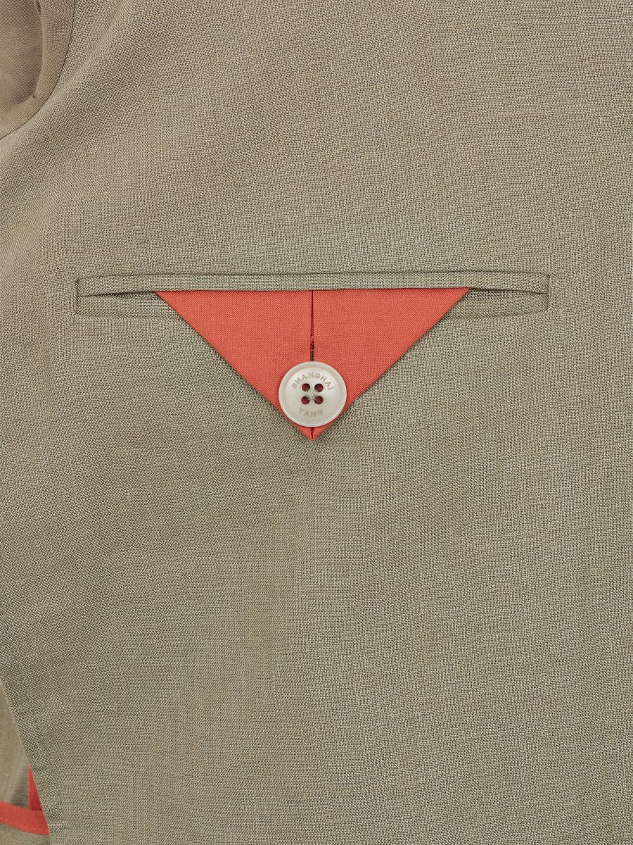 2-button Linen Jacket
