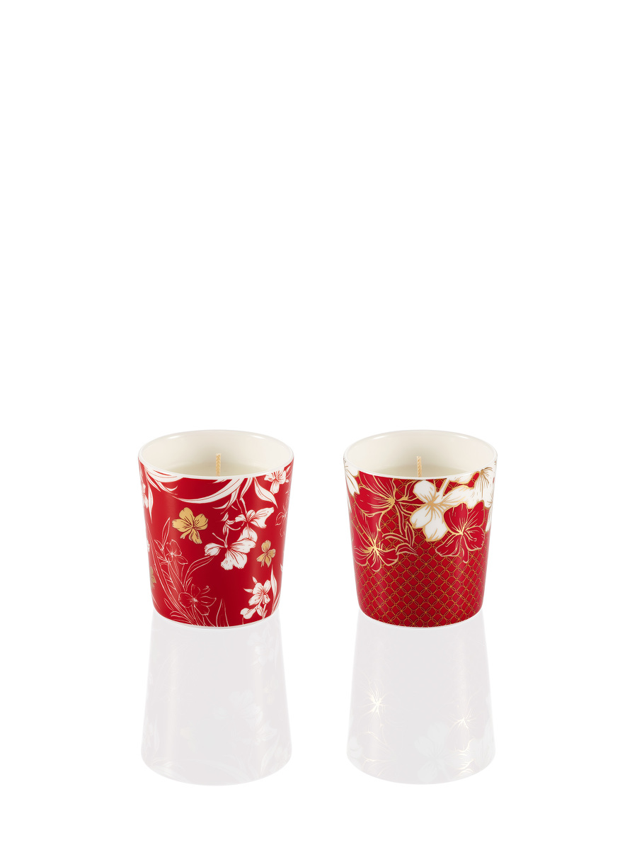 Ginger Flower Mini Scented Candle Set 55g x 2