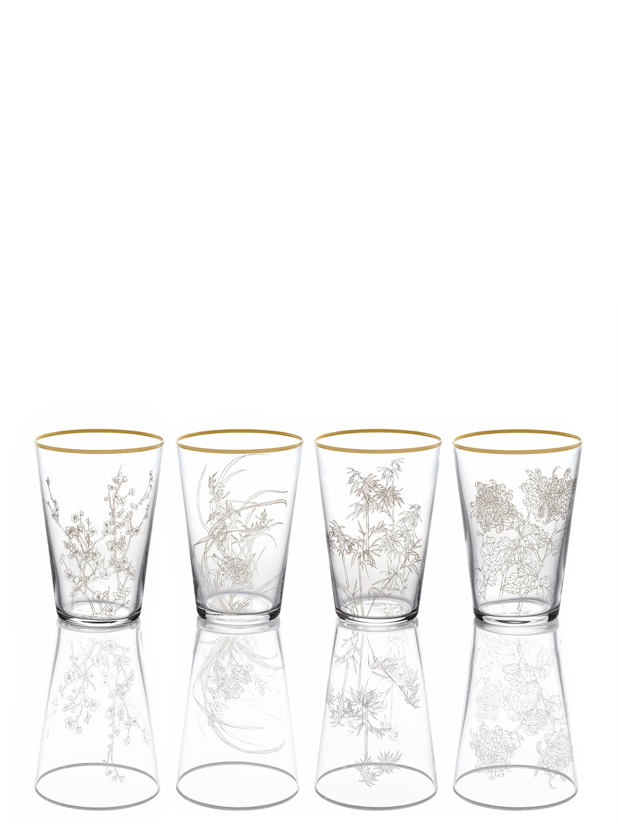 Four Season Glass Set of 4