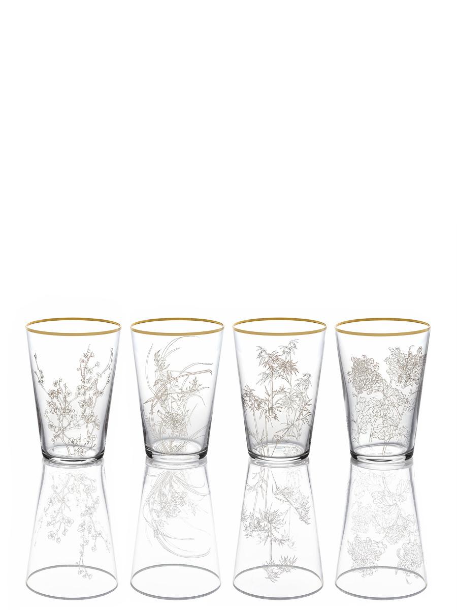 Four Season Glass Set of 4