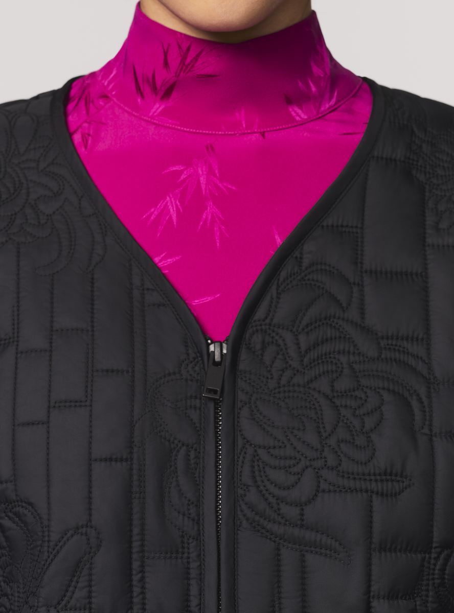 Chrysanthemum Quilted Jacket
