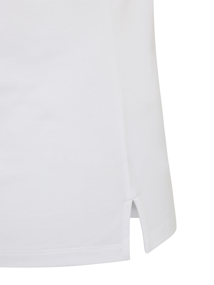 Chrysanthemum Embroidery Polo Shirt