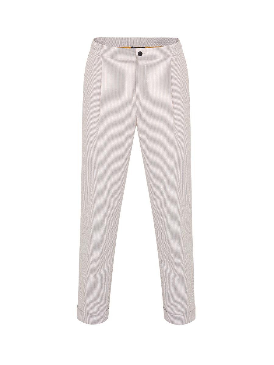 Seersucker Stripe Pants