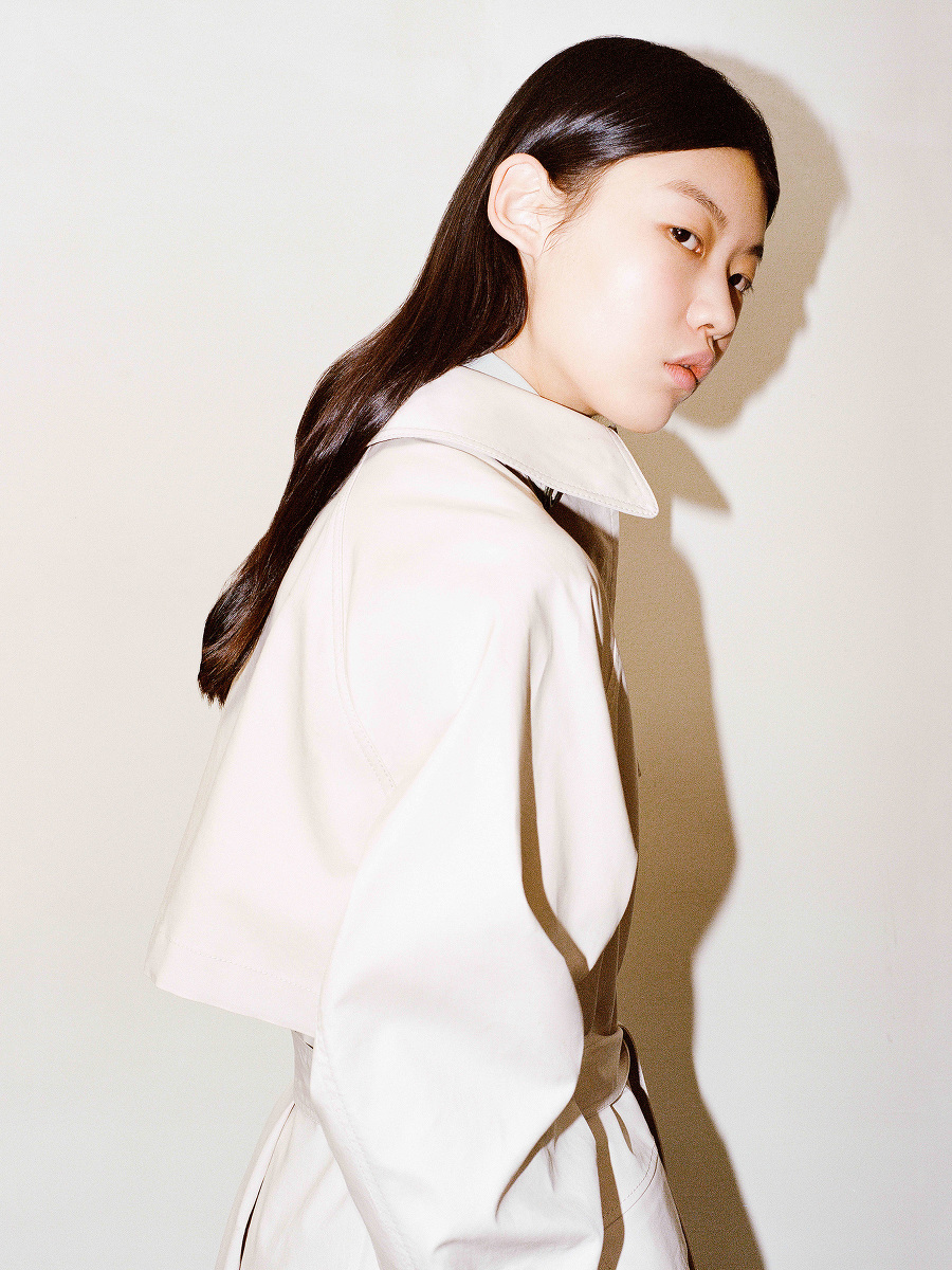 Yuni Ahn for Shanghai Tang Oversized Reversible Trench