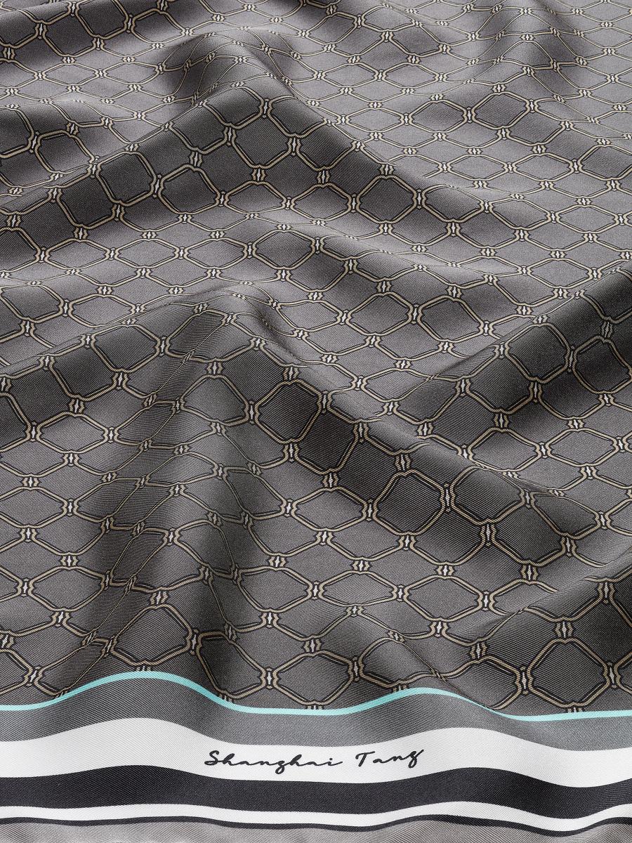 Yuni Ahn for Shanghai Tang Silk Lattice Scarf 90