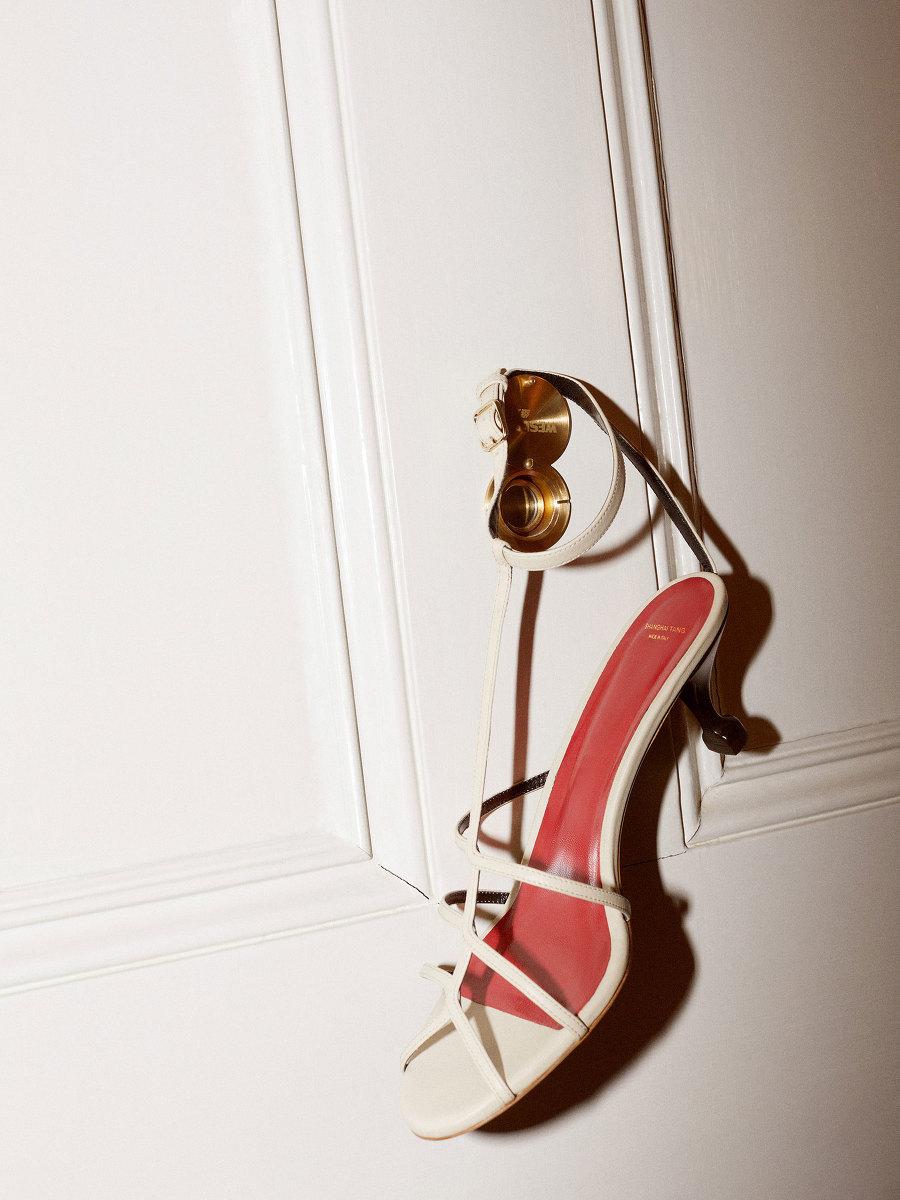 Yuni Ahn for Shanghai Tang Strappy Kitten Heels