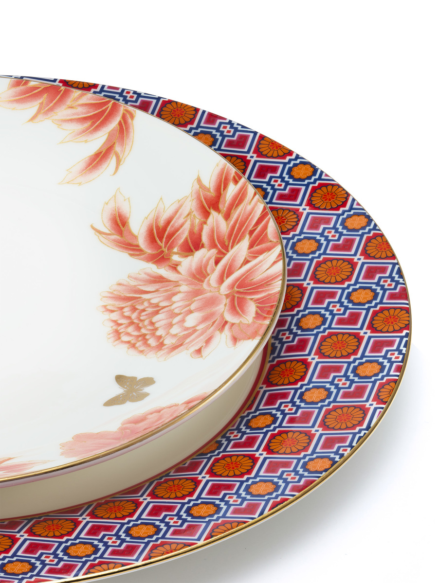 Wedding Fine Bone China Plate Set of 2