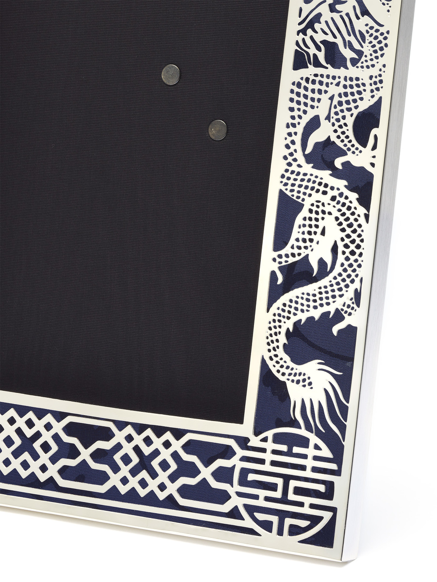 4R Dragon Filigree Photo Frame